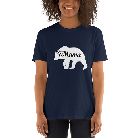 Mama Bear (CT-W1) Short-Sleeve Unisex T-Shirt - Twin Carbon Clothing Co.