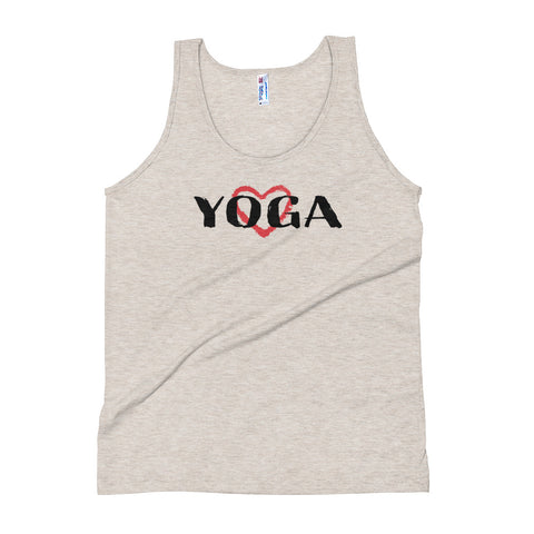 Yoga Exercise Tank Top (Heart) - Twin Carbon Clothing Co.