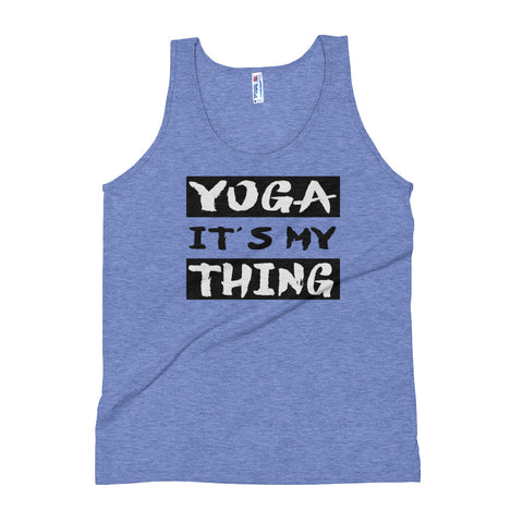(It's My Thing) Yoga Exercise Tank Top - Twin Carbon Clothing Co.