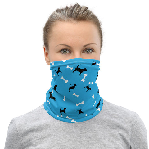 Dog Design 3 Neck Gaiter - Twin Carbon Clothing Co.