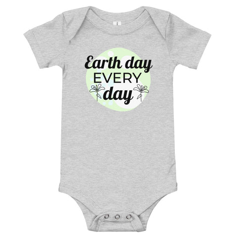 Earth Day Baby Onesie - Twin Carbon Clothing Co.