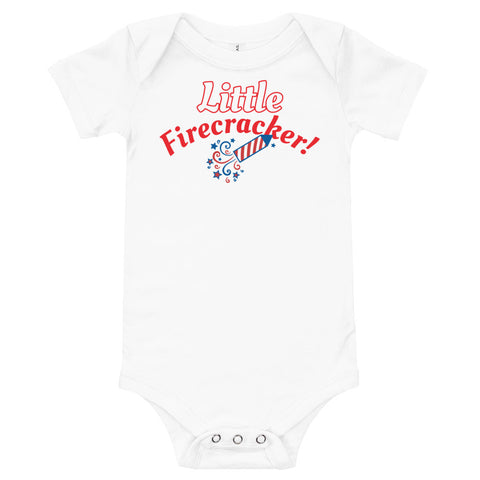 Little Firecracker Onesie - Twin Carbon Clothing Co.