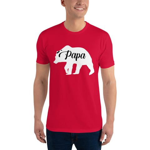 Papa Bear WShort Sleeve T-shirt - Twin Carbon Clothing Co.