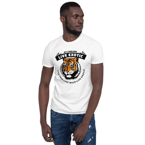 Live Exotic (CB1) T-Shirt - Twin Carbon Clothing Co.