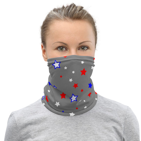 Stars 2 Neck Gaiter - Twin Carbon Clothing Co.
