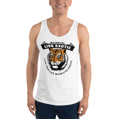 Live Exotic (TK) Tank Top - Twin Carbon Clothing Co.