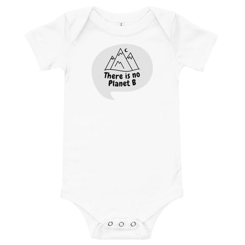 Planet B Baby Onesie - Twin Carbon Clothing Co.