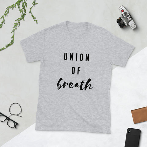 Union of Breath - Yoga T-Shirt - Twin Carbon Clothing Co.