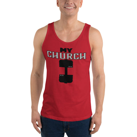 My Church Tank Top - Twin Carbon Clothing Co.