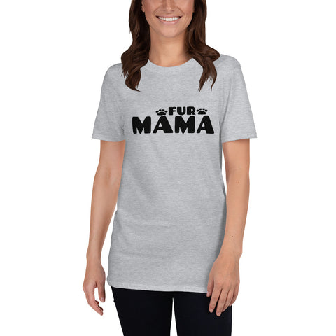 Dogs (Fur Mama CT1) Short-Sleeve Unisex T-Shirt - Twin Carbon Clothing Co.