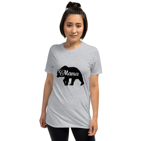 Mama Bear (CT-B1) Short-Sleeve Unisex T-Shirt - Twin Carbon Clothing Co.