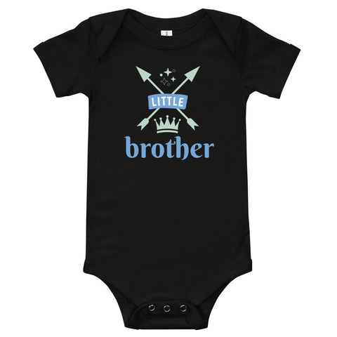 Brother(1) Baby Onesie - Twin Carbon Clothing Co.