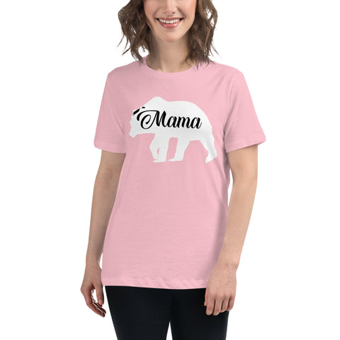 Mama Bear Women's Relaxed T-Shirt - Twin Carbon Clothing Co.