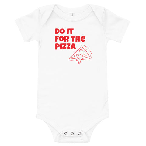Pizza Baby Onesie - Twin Carbon Clothing Co.