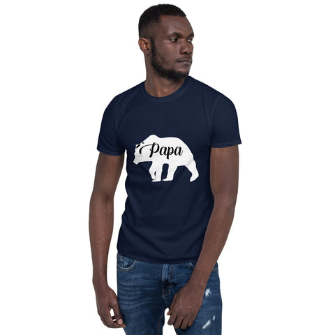Papa Bear (CT-W1) Short-Sleeve Unisex T-Shirt - Twin Carbon Clothing Co.