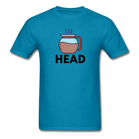 Coffee Pot Head - turquoise