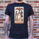 Tarot Two Of Cups T-Shirt (Mens) - Twin Carbon Clothing Co.