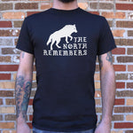 The North Remembers T-Shirt (Mens) - Twin Carbon Clothing Co.