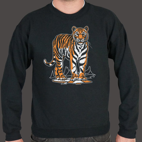 Tiger Sweater (Mens) - Twin Carbon Clothing Co.
