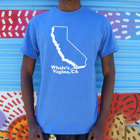 Whale's Vagina, CA T-Shirt (Mens) - Twin Carbon Clothing Co.