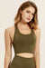 Athletic Workout Crop Top - Fitness Sports Bra