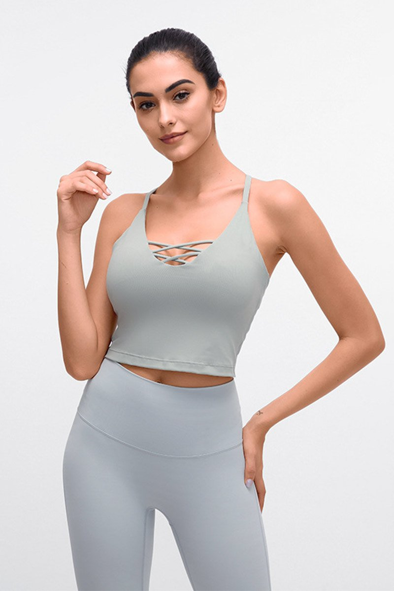 Noelle Flex Crop Top