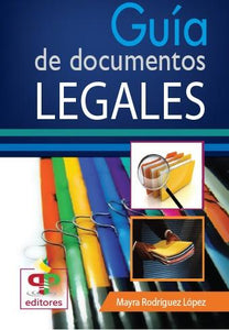 GUÍA DE DOCUMENTOS LEGALES