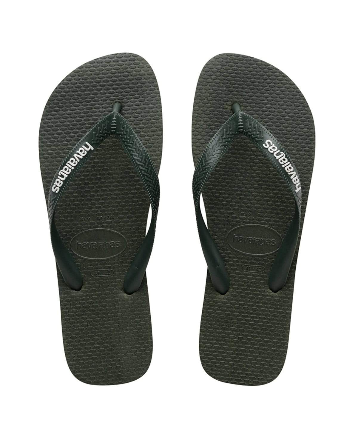 Havaianas Rubber Logo Olive Green Olive Green