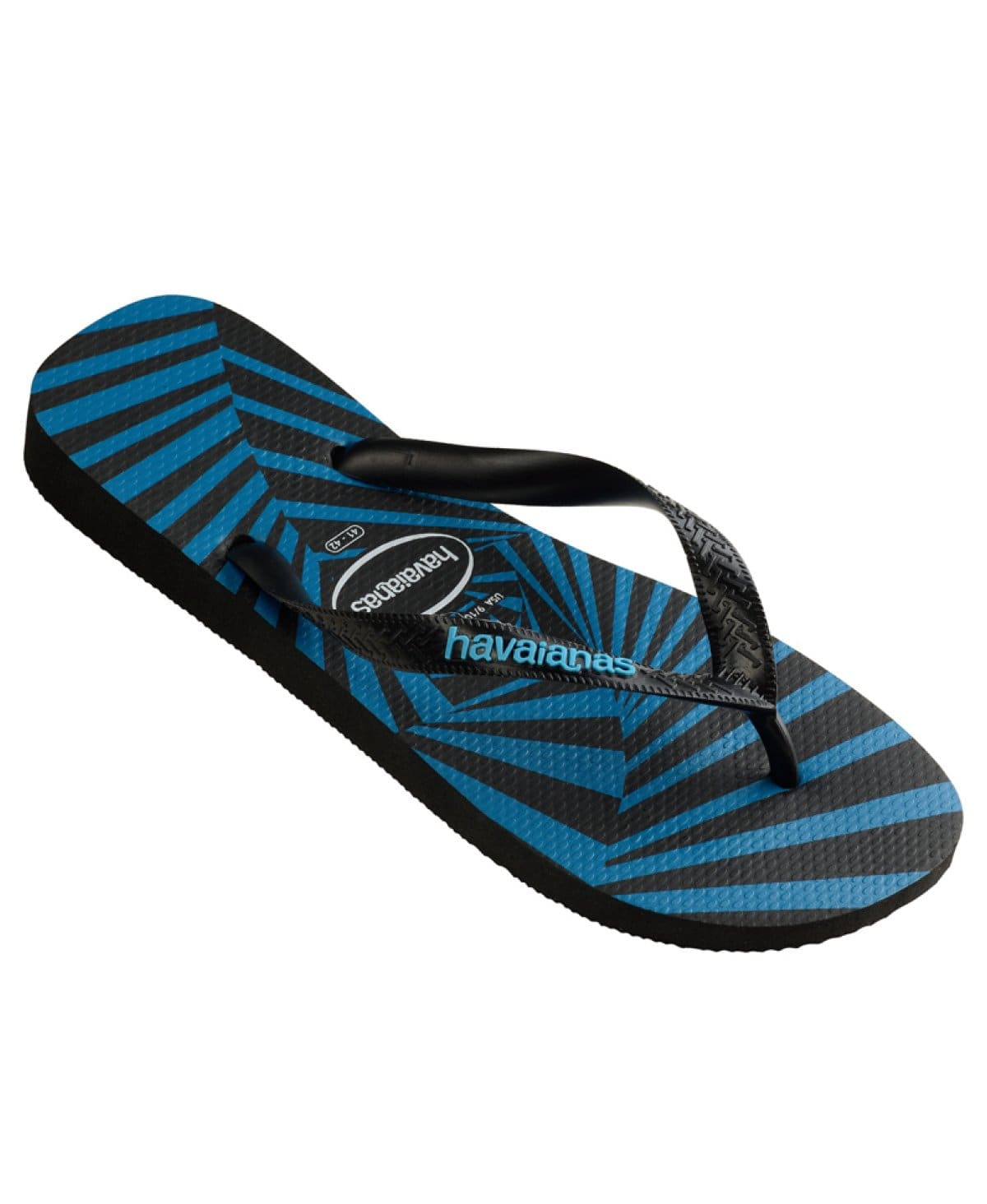 Havaianas Top 3D Thongs Black/Black/Turquoise