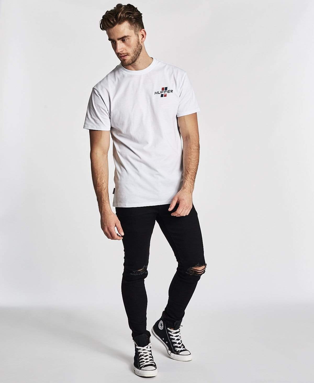 Huffer Sup T-Shirt Drift White