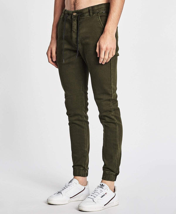 Industrie The Drifter Chino Pants Army Green