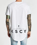 Kiss Chacey Vice Baseball T-Shirt White