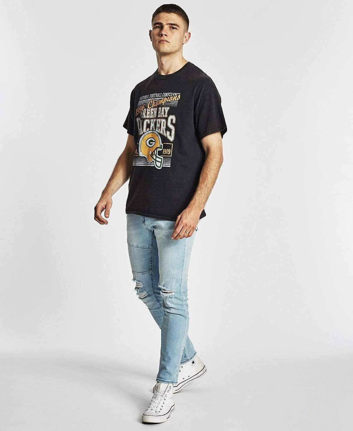 Majestic Tustin T-Shirt Black