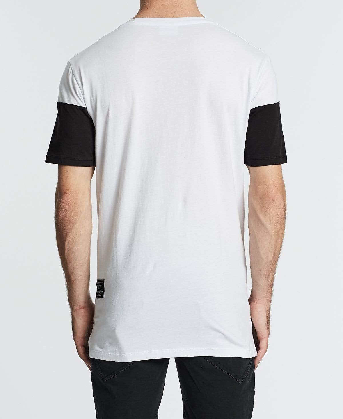 Nena & Pasadena Frontal Hybrid Fit T-Shirt White