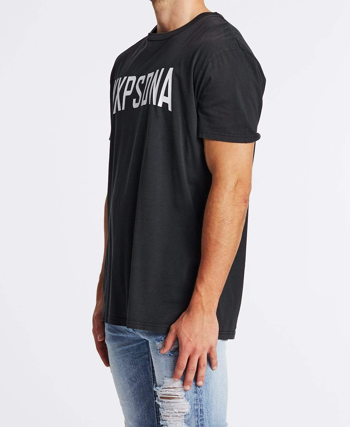 Nena & Pasadena Trade Relaxed Fit T-Shirt Pigment Graphite