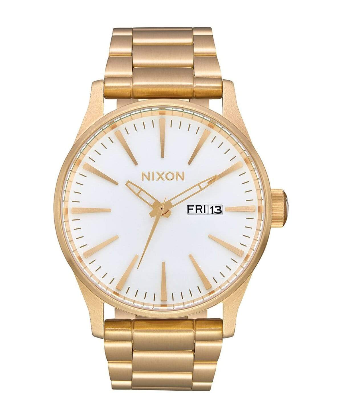 Nixon Sentry SS All Gold White