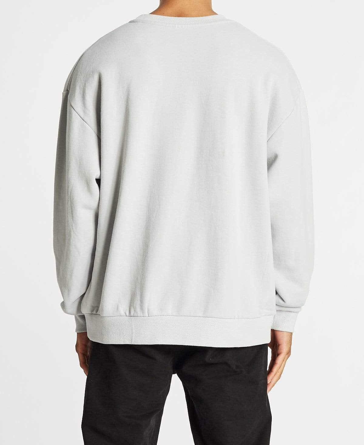 Nomadic Rugged Relaxed Fit Jumper Vaporous Grey