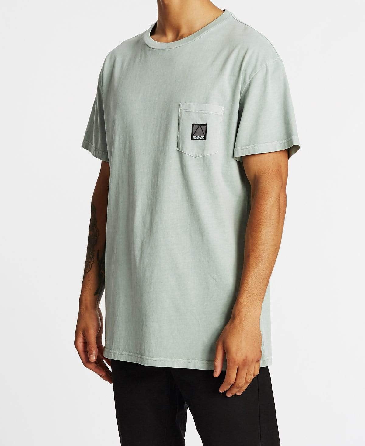Nomadic Stone Roller Relaxed Fit Pocket T-Shirt Pigment Gum