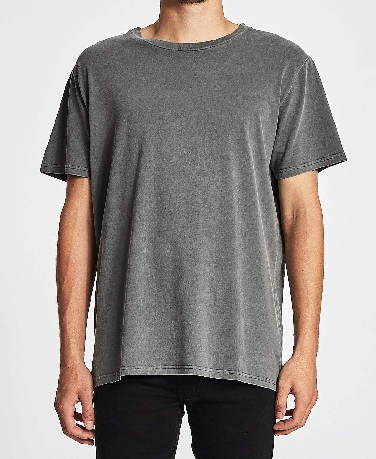 Sushi Radio Basic Box Fit T-Shirt Steel Grey
