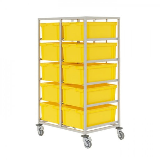 Euro size box mobile trolley
