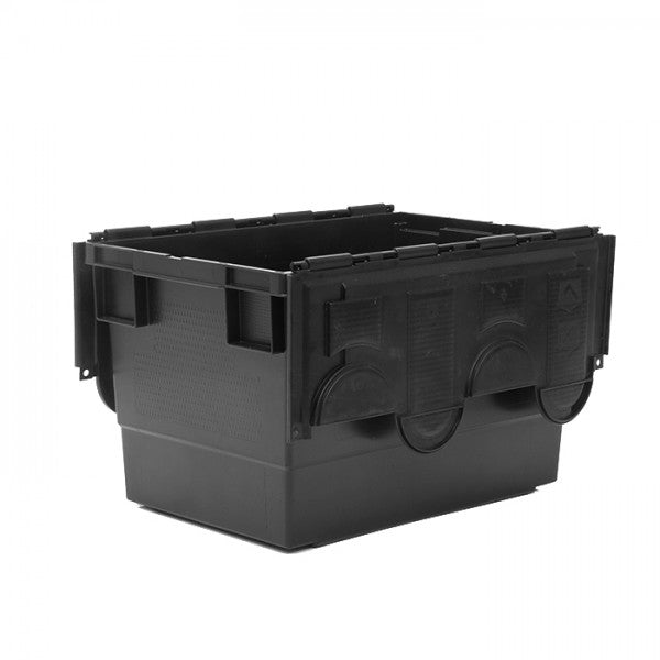 68 Litre Recycled Attached Lid Container