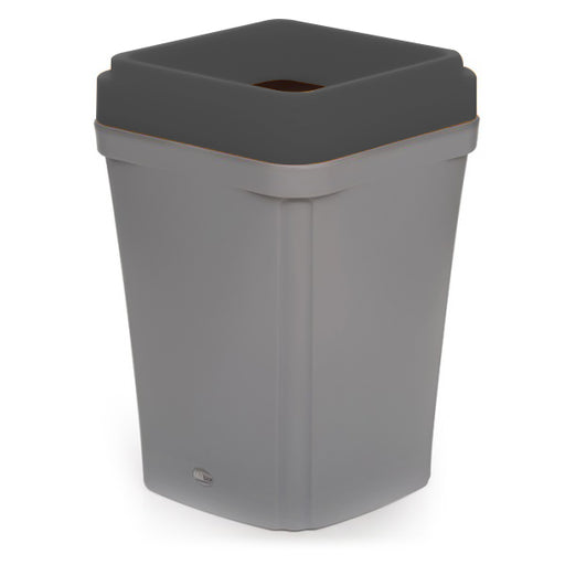 Colour coded open top grey bin