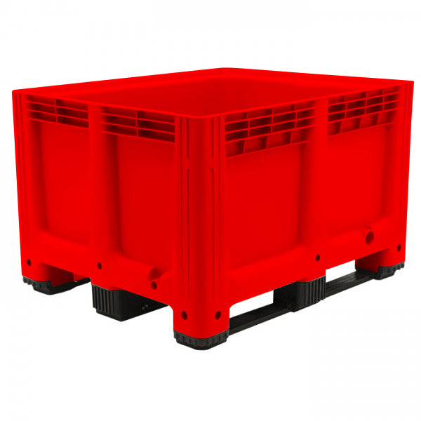 610 Litre Pallet Tank 4 Way Entry - 2 Boxes 2 Open