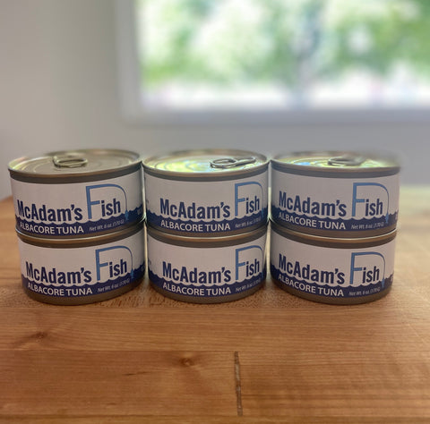 Canned Albacore Tuna - 6 Pack