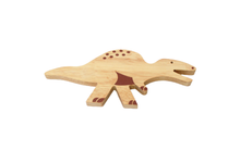 Load image into Gallery viewer, Wooden Dinosaur Set