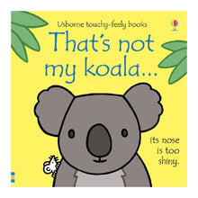 Load image into Gallery viewer, Usborne That's Not My Koala Sensory Board Book