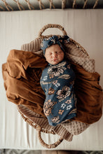 Load image into Gallery viewer, NEW Snuggle Swaddle & Top Knot Set - Belle