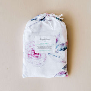 Bassinet Sheet & Change Pad Cover - Lilac Skies