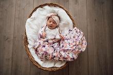Load image into Gallery viewer, Organic Cotton Muslin Wrap - Blushing Beauty