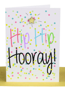 Greeting Card - Hip Hip Hooray